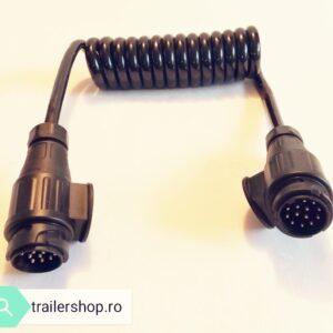Cablu spiralat remorca. Stecher 13/13 PINI